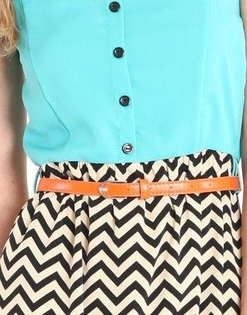 colors: Fashion, Summer Outfit, Style, Clothes, Dream Closet, Zigzag, Chevron