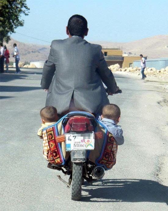 Dus zo neem jij je kinderen mee naar het werk ?