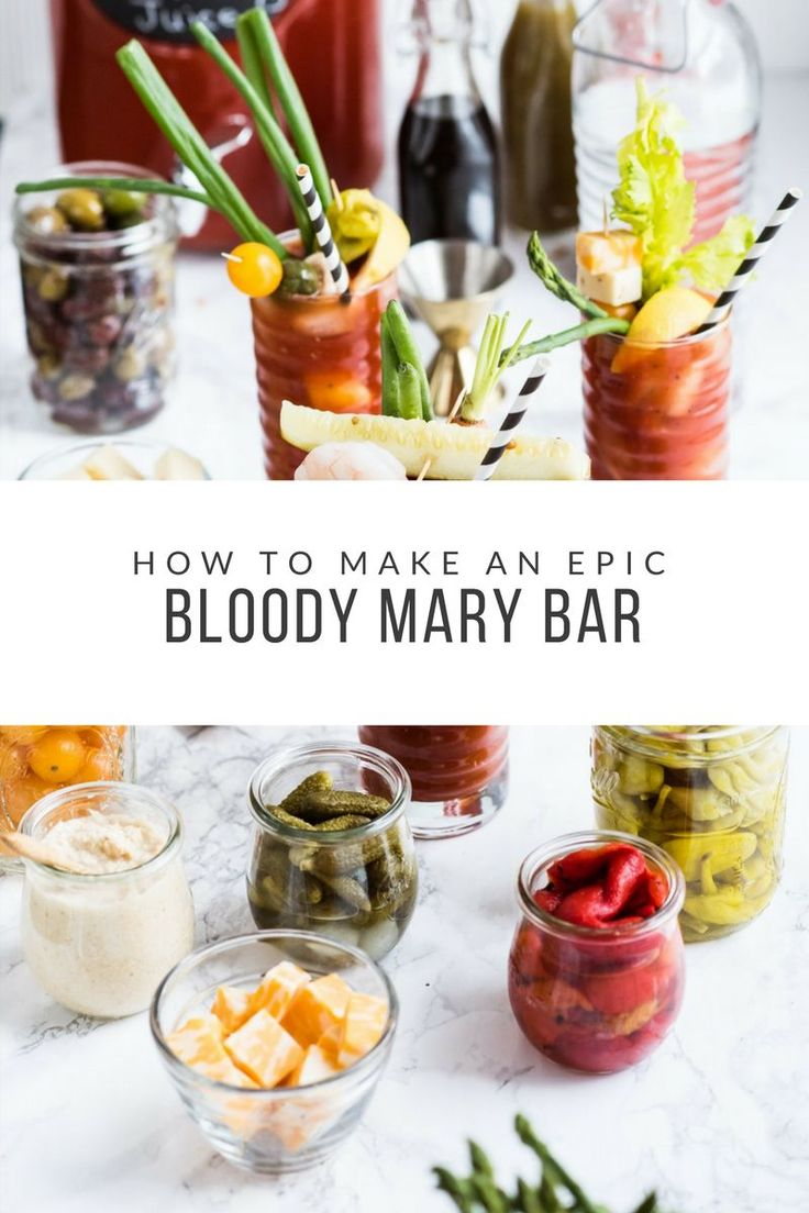 How to Make an Epic New Year's Day Bloody Mary Bar   Entertaining tips, party ideas, party recipes and more from @cydconverse