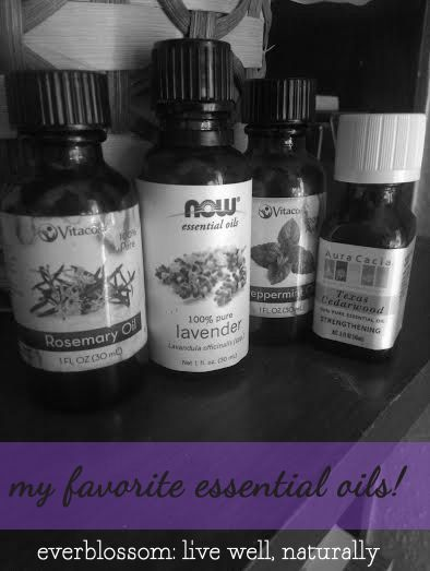 5 favorite essential oils & uses (+ a giveaway!)