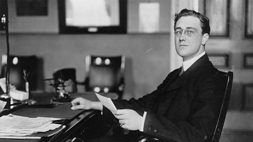 Franklin D Roosevelt (FDR) as Assistant Secretary to the Navy 1910