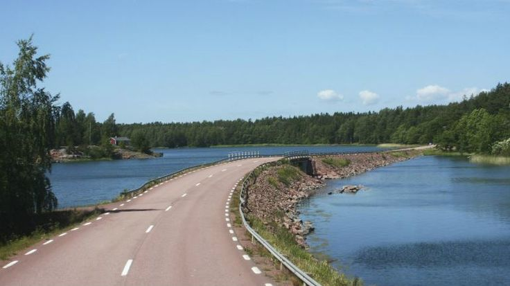 Finland's Åland Islands offer picturesque landscapes in the midst of the Archipelago Sea.