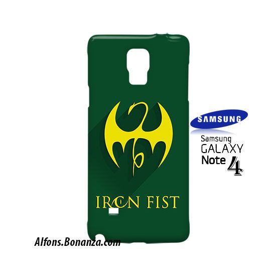 Iron Fist Superhero Samsung Galaxy Note 4 Case