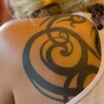 Tribal Shoulder Tattoo - More tattoo designs available at www.99tattoodesigns.com