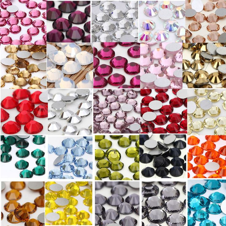 Diamantes de imitación de cristal vidrio no hotfix para Teléfono/Uñas Arte Decoración hágalo usted mismo Accesorio   Belleza y salud, Cuidado de uñas, Accesorios para decorar uñas   eBay!