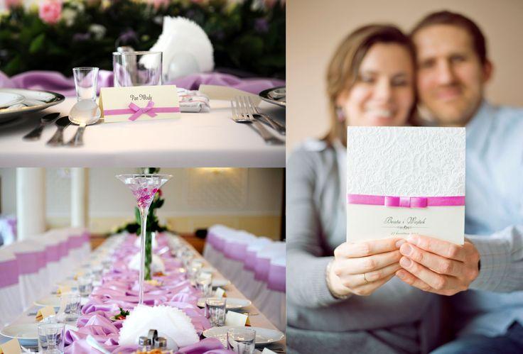 zaproszenia i dodatki ślubne / wedding invitations, stationary