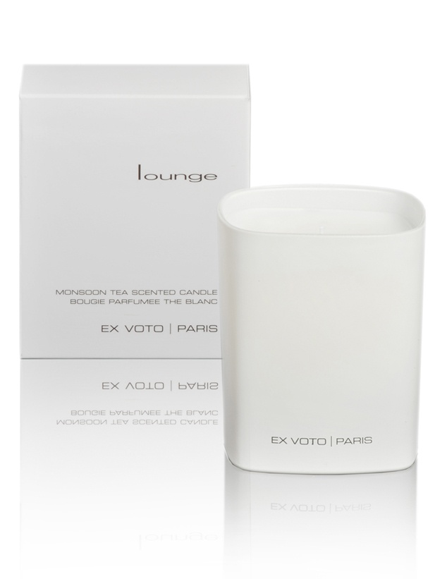 Lounge cented candle by Ex Voto Paris #exvotoparis _Cent Candles, Gift Guide, Graphic Design, Design Candles, Bougie Parfumées, Scented Candles, Paris Exvotopari, Candles Galore, Voto Scented