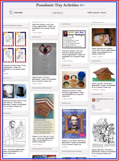 Pinterest Pinboard of the Week: Presidents' Day Activities for Therapy: Holiday, Ideas, Speech, School, Pinboard Presidents, Activities, Therapy
