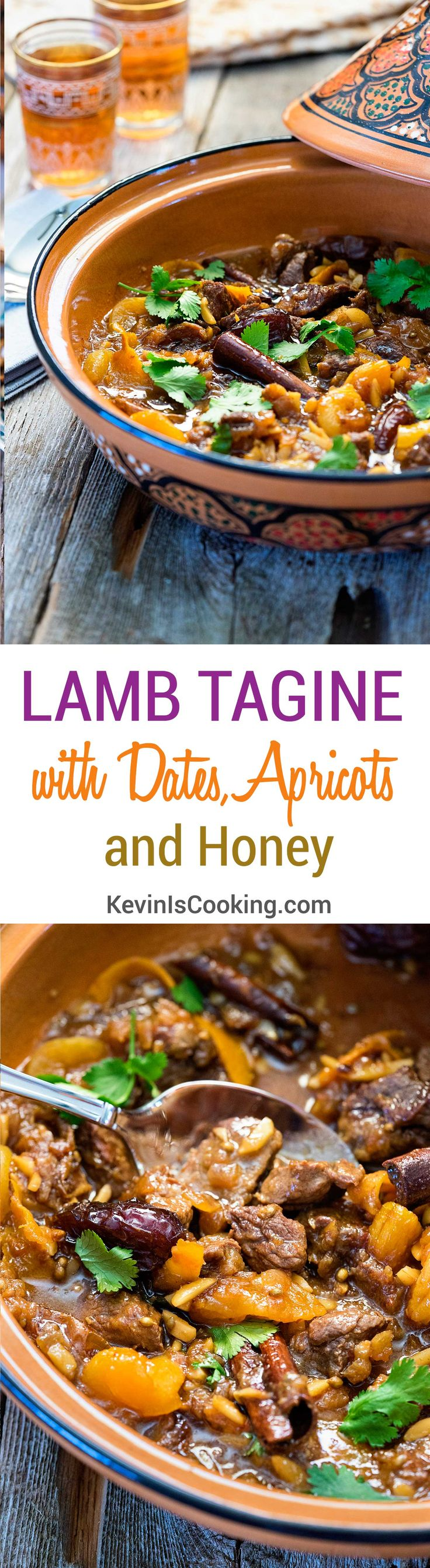 Lamb Tagine with Dates Apricots and Honey. .