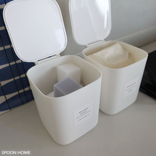 100均セリア 1dpダストボックス の収納アイデア ミニサイズでおしゃれなデザイン 収納 アイデア セリア 卓上 ゴミ箱