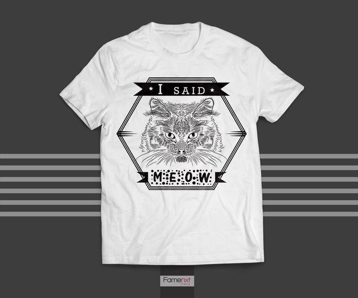 445 best Cat T-Shirts images on Pinterest | Cat design, Cat shirts ...