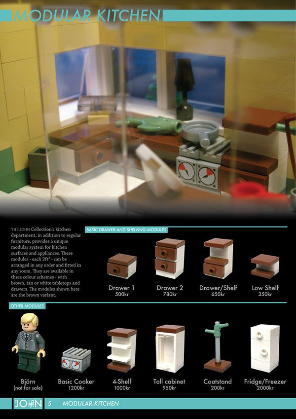 MOC LEGO furniture