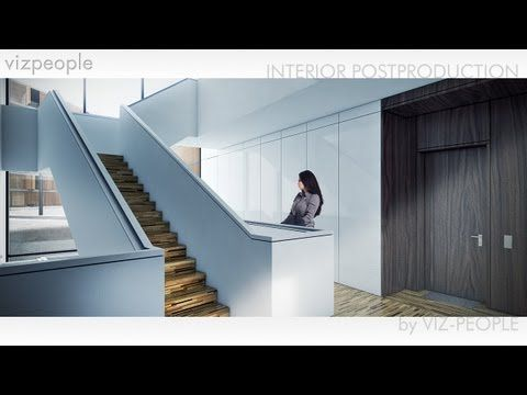 Viz People Interior Postproduction Tutorial