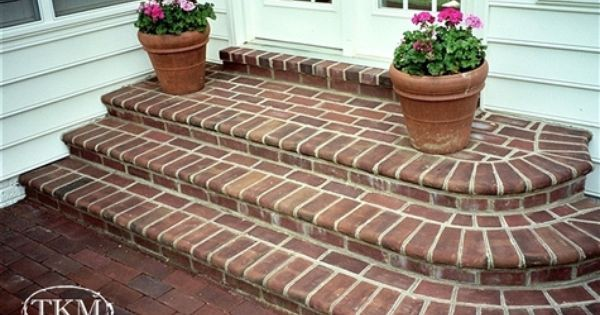 1000+ ideas about Brick Steps on Pinterest | Front Porch Steps ...