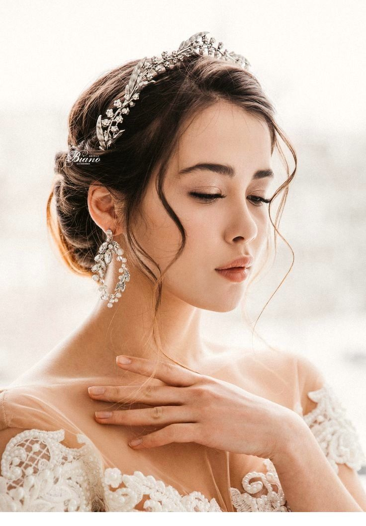 Glamorous 120 Hairstyles To Try This Summer Wedding Headpiece Bridal Hair Headpiece Tiara Hairstyles