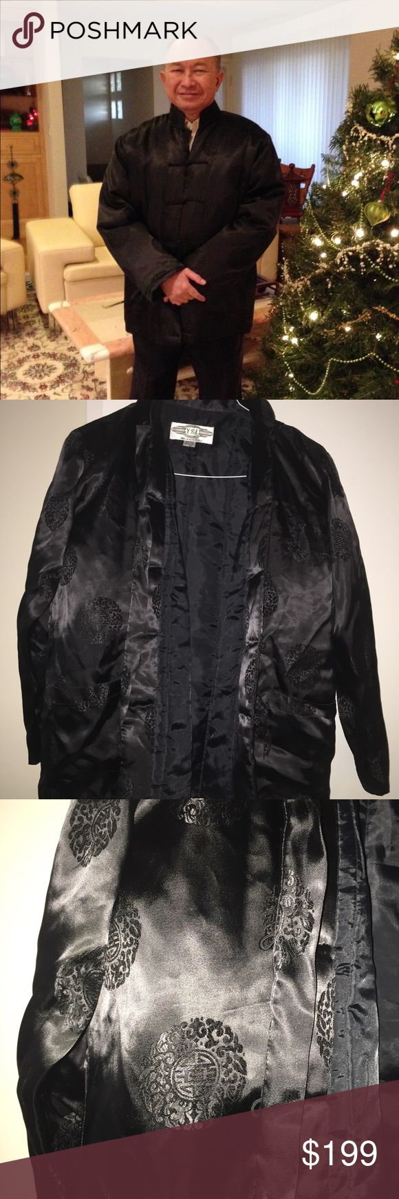 Director John woo jacket This is donated from the closet of movie director John Woo who directed FACE OFF AND MISSION IMPOSSIBLE TWO as well as many others .  Majority of proceeds go towards cyclic vomitting syndrome research  Size XL Chinese puffer coat Y&l Jackets & Coats Puffers