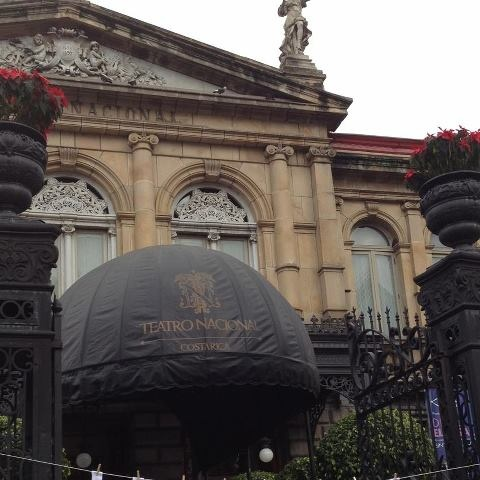 Costa Rica, National theater