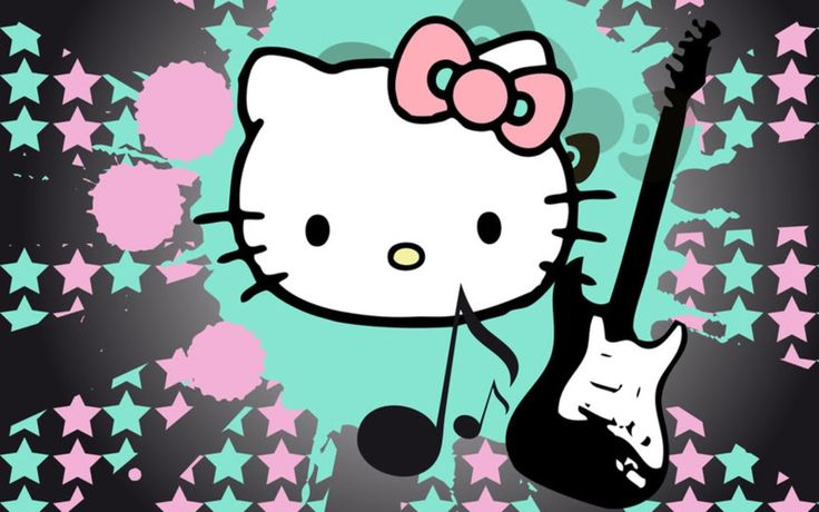 Musical kitty