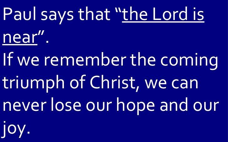 06 June 10, 2012 Philippians, Chapter 4, Verse 4