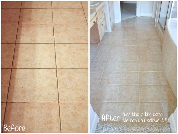 Best 25 clean tile grout ideas on pinterest clean grout - How to clean bathroom floor tile grout ...