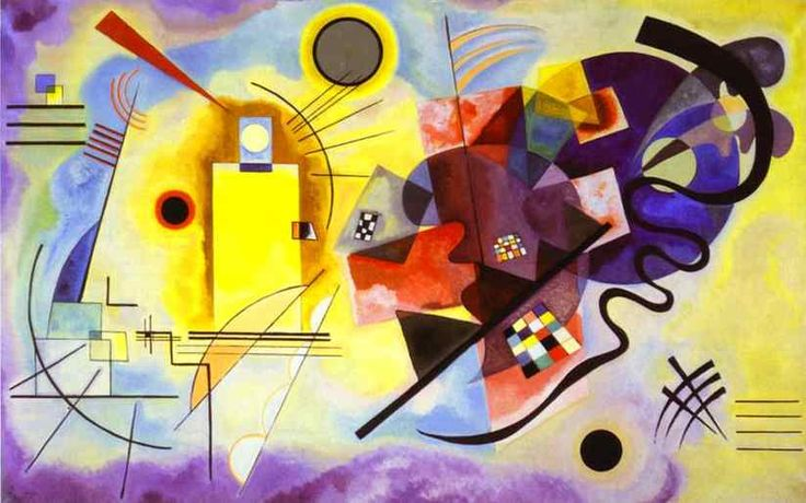 Kandinsky. Yellow-Red-Blue. 1925. Centre G. Pompidou, Paris.: Yellow Red Blu, Wassilykandinsky, Oil On Canvas, Abstract Art, Art Prints, Red And Blue, Painting, Red Blue, Wassily Kandinsky