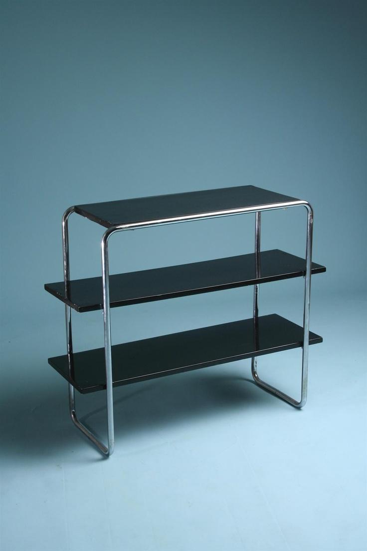 Book shelf, designed by Marcel Breuer for Thonet