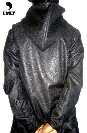 DIB...EMIT designer leather jacket