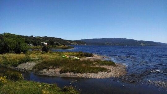 Mas del lago Huillinco...magico