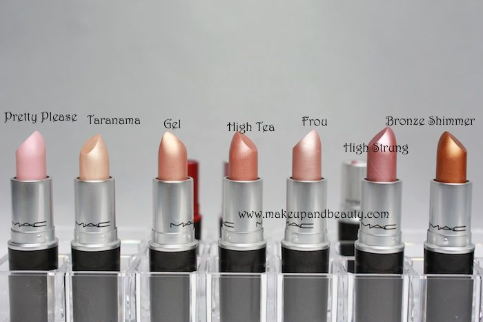 mac lipstick swatches 9 All MAC Lipsticks Photos and Swatches