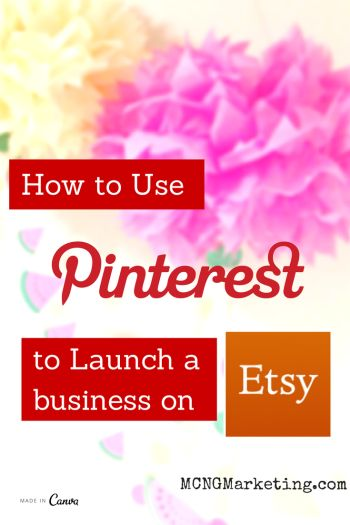How to Start an Etsy Business Using Pinterest. Interview with Etsy Shop owner @juliegrandbois from Julie's Elegant Crafts of on the Pictures to Profits Podcast.