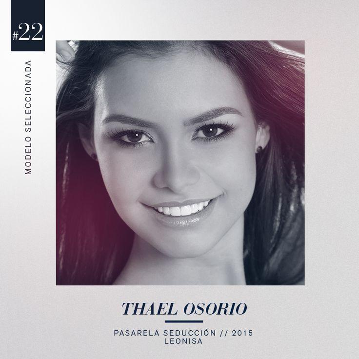 Naturalidad, 176 cm de estatura y un cuerpo tonificado convirtieron a la barranquillera Thael Osorio en la seleccionada #22 en casting nacional. #DesnudaTuAlma #Colombiamoda2015 #MadeInHeavenProductions