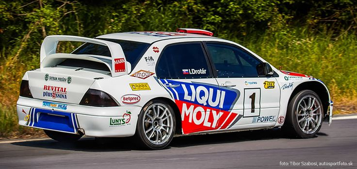 Mitsubishi Lancer WRC - hill climb - 2015 design and wrap for Igor Drotár