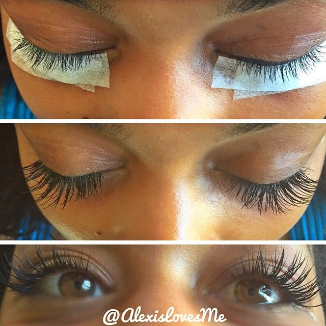 how to avoid eyes gluing doing eyelash extensions