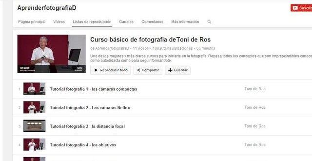 Curso fotografia en 11 videos http://www.softandapps.info/2014/08/21/un-curso-basico-de-fotografia-en-videos/