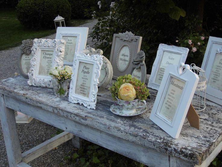 Tableau de mariage By L'Erba del Re