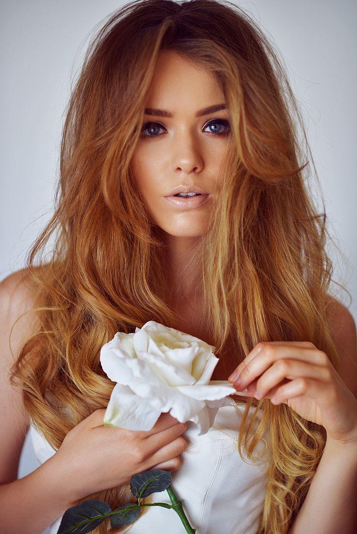 Blonde redhead impure hair-5310