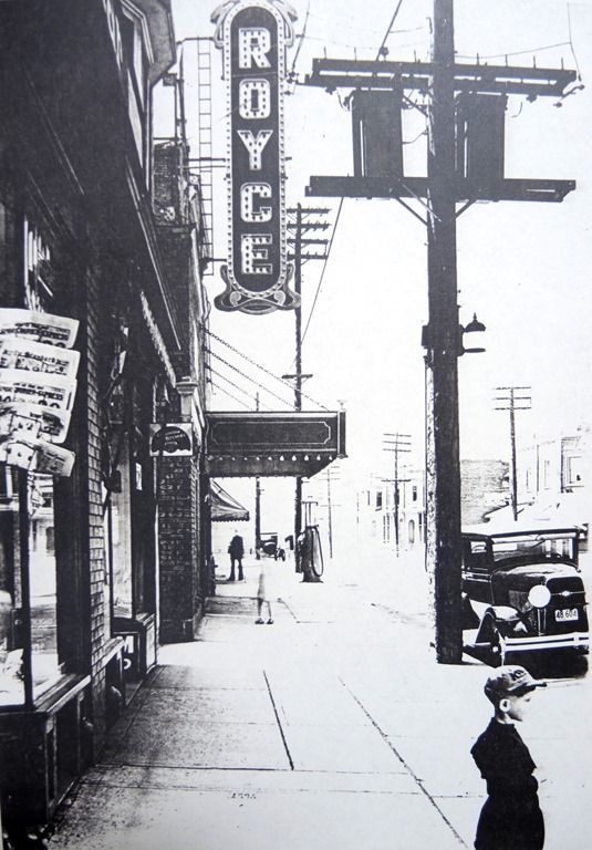 Royce Theatre, Toronto, c.1920, looking West on Dupont