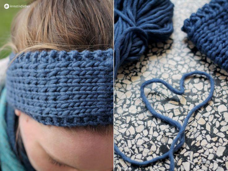 Heute zeige ich euch wie ihr ein einfaches DIY Stirnband stricken könnt. Mit dicker Filzwolle ist es ruckzuck fertig und auch für Anfänger gut zu stricken.