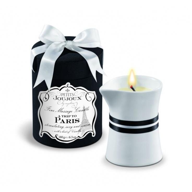 Petits Joujoux Massagekerze - A trip to Paris Candle