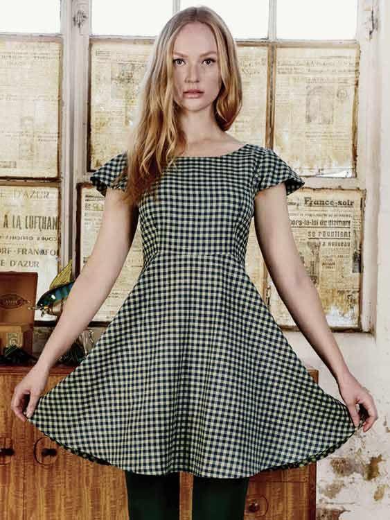 Skater-Kleid