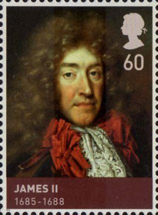 House of Stuart 60p Stamp (2010) James II