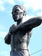 Statue of Paul Bogle in Morant Bay, Jamaica. The Morant Bay rebellion began on October 11, 1865, when Paul Bogle led 200 to 300 black men and women into the town of Morant Bay, parish of St. Thomas in the East, Jamaica. The rebellion and its aftermath were a major turning point in Jamaica's history, and also generated a significant political debate in Britain. Today, the rebellion remains controversial, and is frequently mentioned by specialists in black and colonial studies.