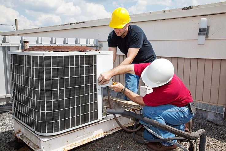 OMG! These guys are doing it all wrong! Where is their #WorkUniform?! If you're in #HVAC #Plumbing Contact us! http://bit.ly/2nrRkqT