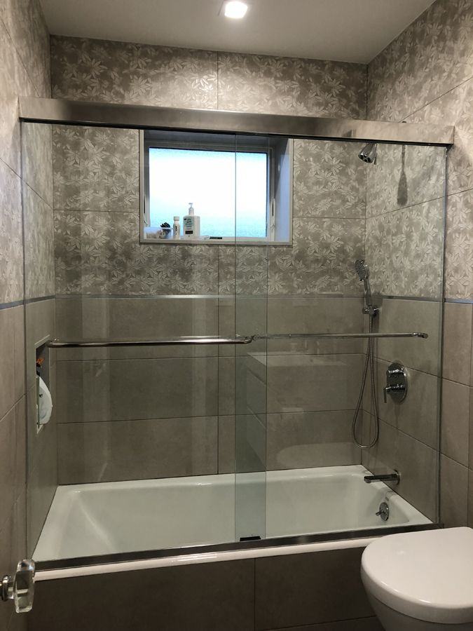 shower enclosures installation   Epic By-Pass Shower Enclosures ...