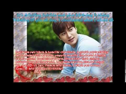 Happy 29th Birthday Lee Min Ho ❤~22 June 2015~ by Romanian Minoz❤