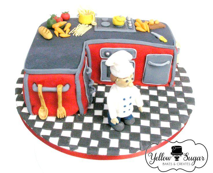 Chef's birthday cake