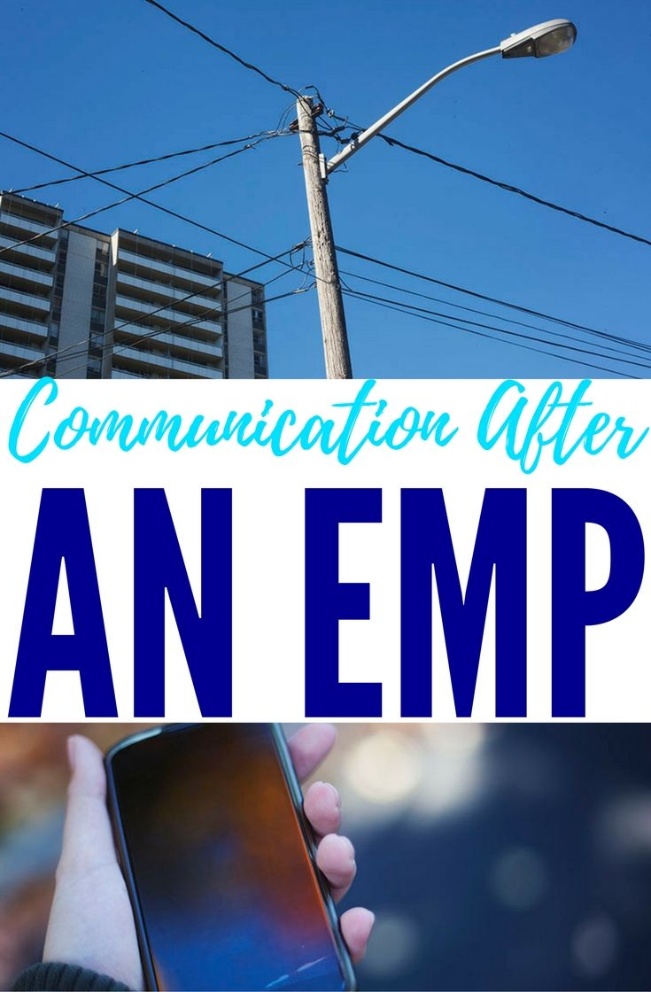 Communication After an EMP — Do you know how to communicate after an EMP? What kind of gear will you be needing? What will you use after the electronics in your location have mostly all gone down? Have any idea how to protect your electronics from a potential EMP? If you're interested in finding out, today's article is one for you.