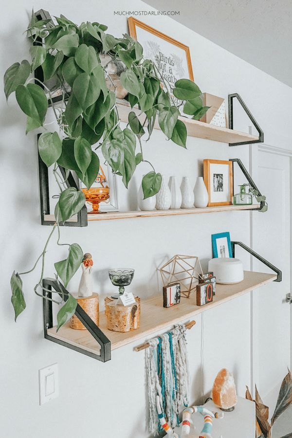 Diy Ekby Lerberg Bracket Ikea Hack Master Bedroom Shelving