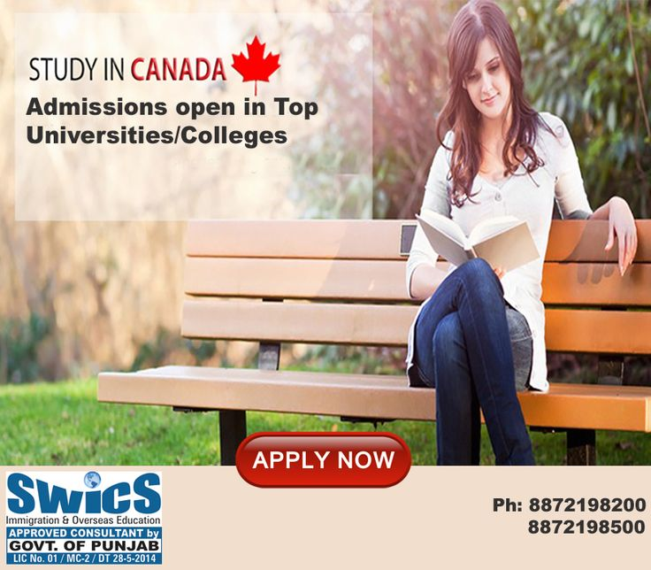 ADMISSIONS OPEN!! In the top Government Funded Universities/Colleges for September Intake. (55% can Apply) LIMITED SEATS AVAILABLE Contact: 8872198500, 8872198400, 8872198200 Email: info@swics.org, business@swics.org