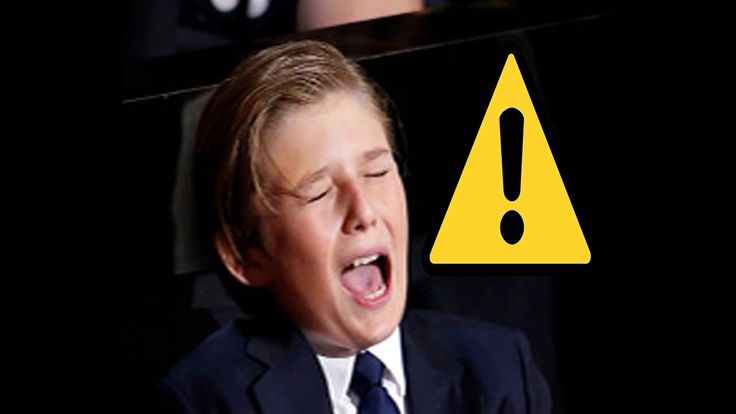 """Don't bully a 10 year old boy"" Barron Trump || Donald Trump son"
